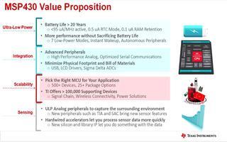 TI嵌入式产品研讨会:MSP430™低功耗开发介绍