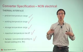 非电气性能指标的介绍
