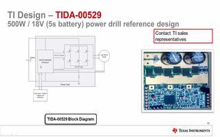 电机驱动在无线电动工具中的应用