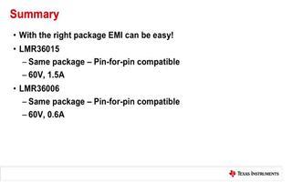 减少EMI和收缩解决方案的方法介绍