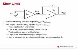 什么是压摆率?压摆率和放大器电流消耗之间存在怎样...