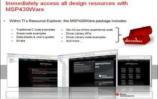 MSP430Ware驅動程序庫的應用介紹