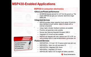 關于MSP430的應用設計介紹