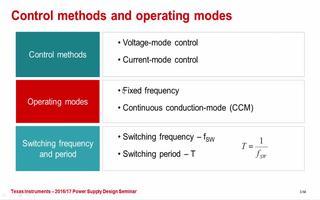 开关模式电源转换器补偿简单易行:功率级的特性介绍