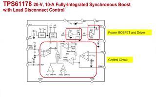 全集成的同步升压芯片TPS61178的特点介绍