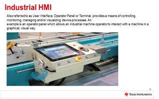 关于人机交互与TI Sitara处理器在工业方面...
