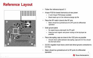 关于CC1310布板及测试介绍