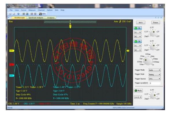如何MFC实现虚拟示波器界面