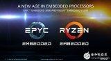 AMD发布EPYC Embedded 3000和...