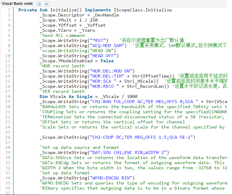 如何用C#编写简单的示波器