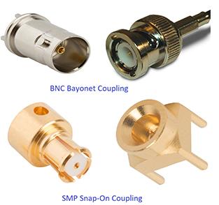 各种类型的射频同轴连接器设计方案