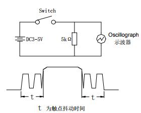 基于TS-D00下的轻触开关