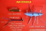 如何制作一个电动甲壳虫玩具?