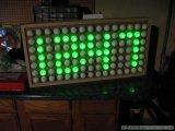 如何用乒乓球做一个简易的数字时钟显示屏?