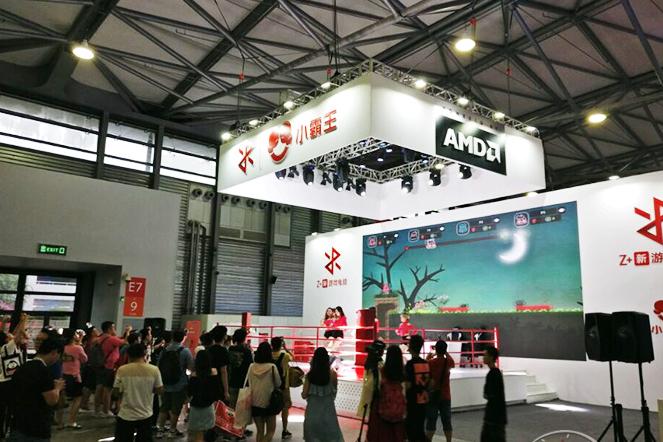 小霸王联合AMD在ChinaJoy展会上宣布推出新款游戏主机,搭载AMD定制版处理器,性能超过索尼PS4及微软Xbox One