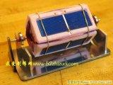 如何制作一个简易的太阳能磁悬浮马达?