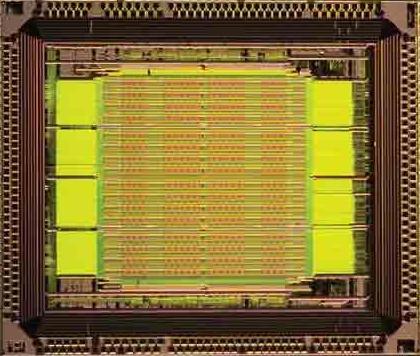 关于反熔丝FPGA的结构和原理以及其在密码芯片设...