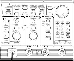 示波器系统及控制