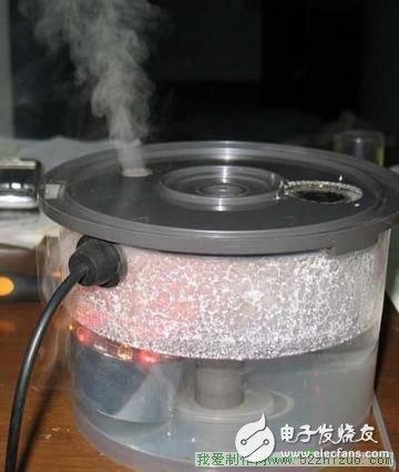 如何制作一个简易的加湿器?