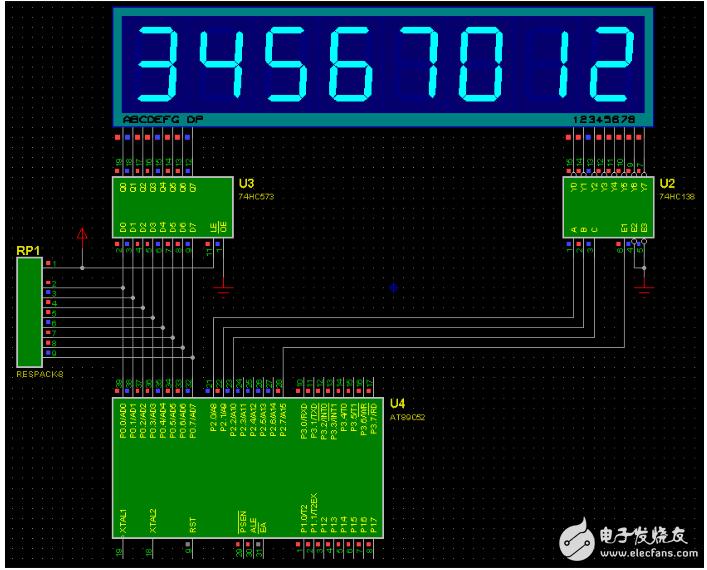 74hc138驱动能力概述 如何驱动8位数码管