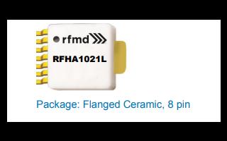 RFHA1021L高功率放大器的详细资料免费下载