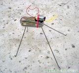 一老外自制了一只会跑的电动昆虫