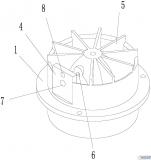 【新专利介绍】大口径表阀一体式水表