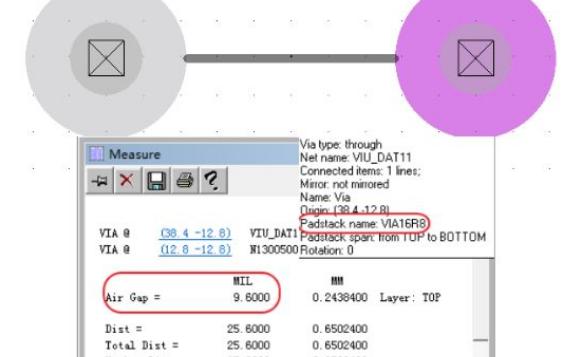 0.65的BGA设计两过孔间无法出线问题