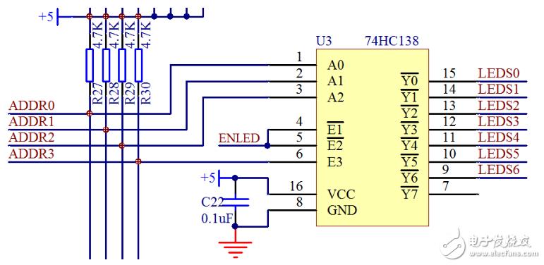 74hc138电路图汇总分析 74hc138在电路中的作用