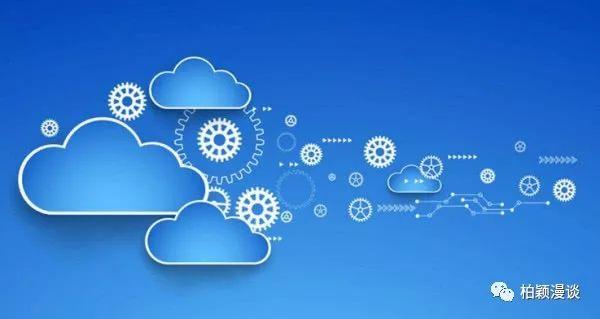 矢量图片立体云