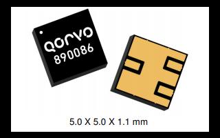 890086 L1和L5高衰减GPS声表面波双工器的详细数据手册免费下载