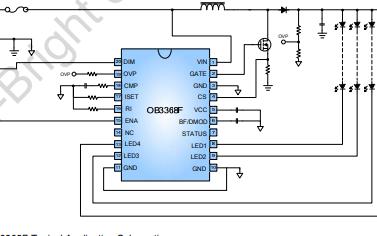 OB3368F高性能LED驱动器详细英文原版资料免费下载