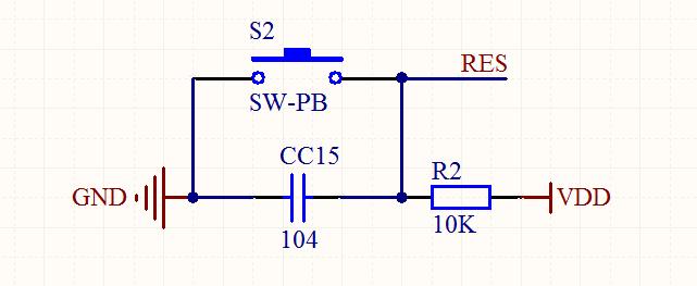 stm32复位电路设计 浅析stm32复位电路方...