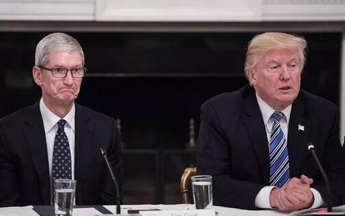特朗普与美科技巨头关系紧张,白宫发声明安抚