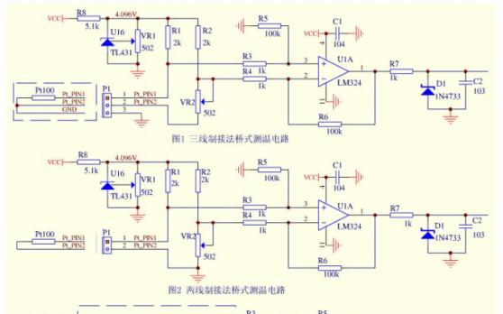 热电阻pt100测温电路调试体会详细资料免费下载