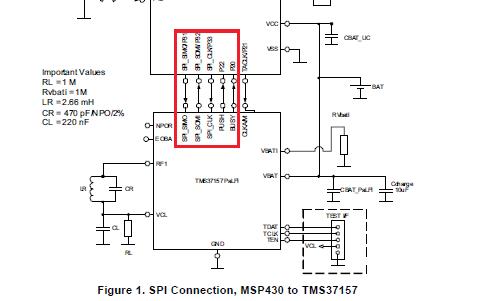 TMS37157无源低频接口设备和访问其EEPROM所必需的SPI命令的资料概述