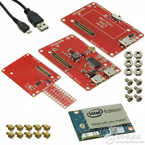 SparkFun Electronics 的开放式电源入门套件
