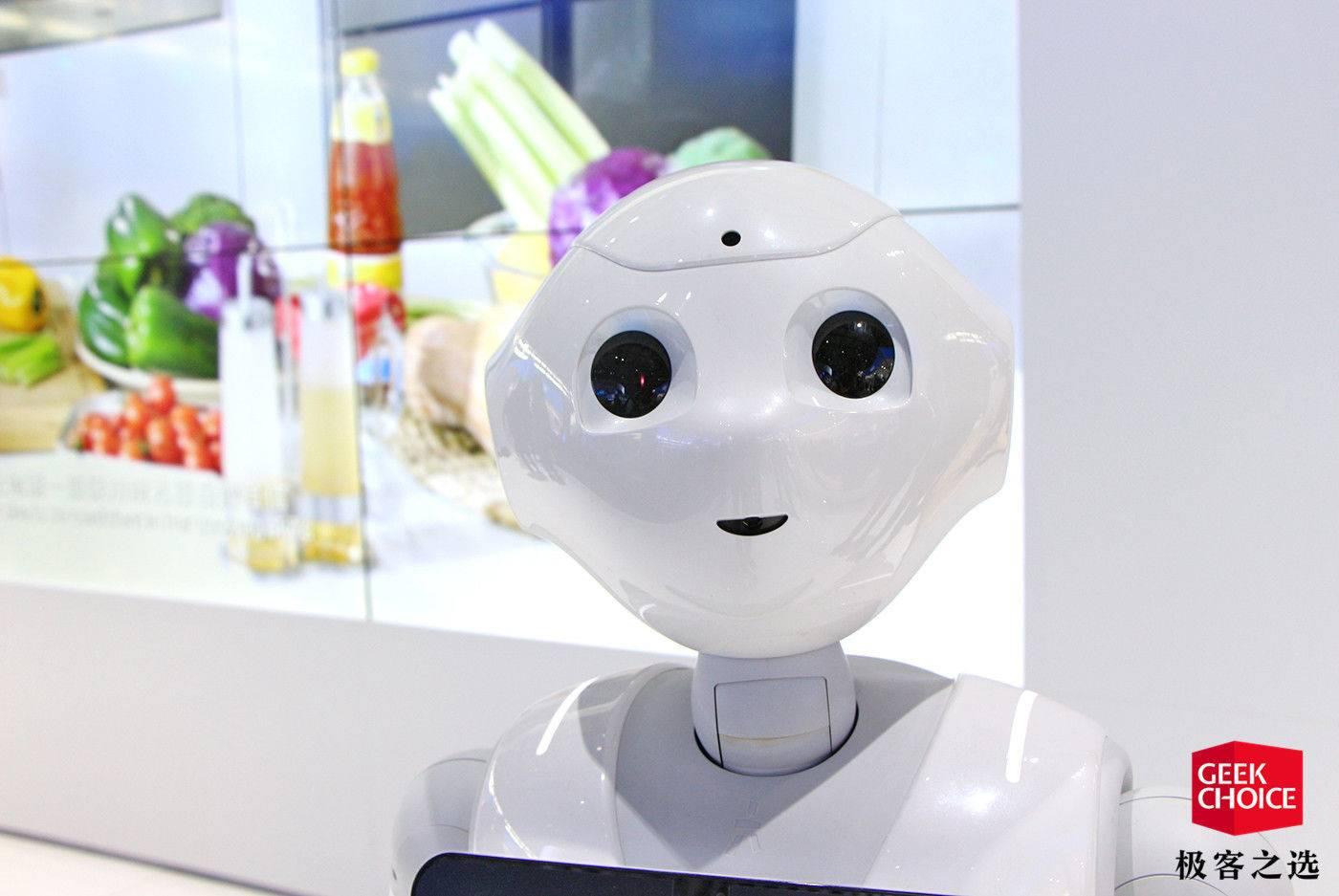 Pepper终于引入中国市场,那个表情你是否还熟悉?