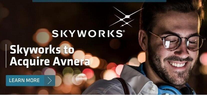 Skyworks将以4.05亿美元Avnera,瞄准语音接口市场