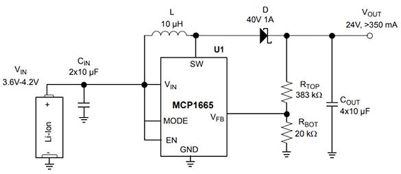 汇总DC-DC升压转换器的作用