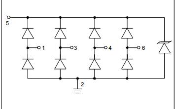 SRV05-4低電容TVS二極管陣列的詳細資料免費下載