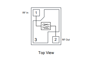 QPQ1280 TDD B41带通滤波器的详细资料免费下载