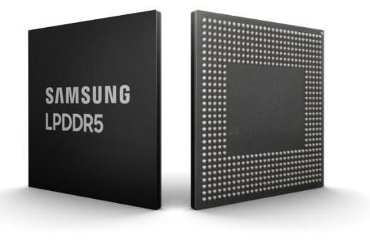 三星成功开发业界首款10nm级8Gb LPDDR5 DRAM,主要应用于移动设备