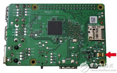 Raspberry Pi 3 板载自复位保险丝图片
