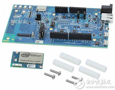 Intel Edison 开发平台板图片