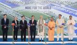 三星将在印度建设全球最大手机制造工厂