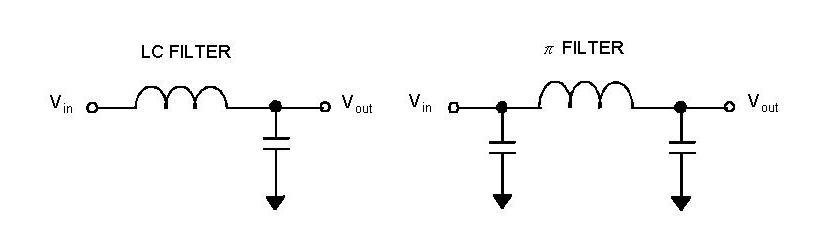 直流电源滤波器原理图 性能参数分析