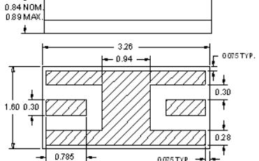 880060 1227.6 MHz GPS L2 BAW滤波器的详细数据手册免费下载