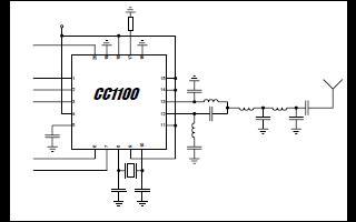 C1100射频收发器的详细资料免费下载