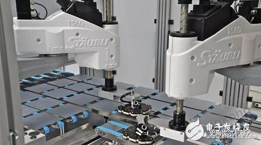 史陶比尔四轴Scara TS60机器人,实现太阳能电池高效率生产